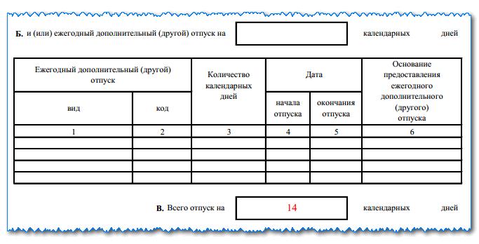 Изображение - Как заполняется записка-расчёт о предоставлении отпуска zapiska-t-60-l-3