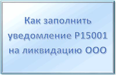 Форма р15001 скачать бесплатно 2019 образец заполнения один учредитель